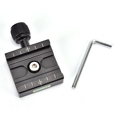 QR-50`Quick Release Plate`Clamp Mount Compatible For Arca SWISS Tripod Ball Head