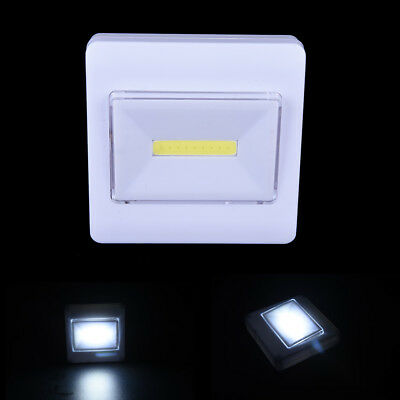 Magnetic COB LED Wall Night Lights Camp Lamp Battery Operated with Switch~GN