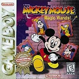 Disney's Mickey Mouse: Magic Wands (Nintendo Game Boy, 1998) Autentic Game Cart