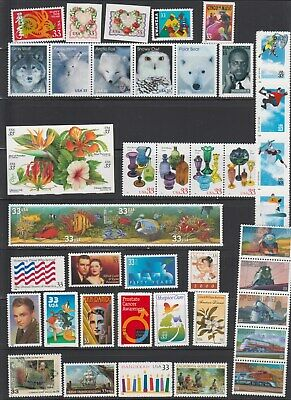 Us,3272 / 3369,1999 Year Commemoratives,1990'S Collection Mint Nh,Vf