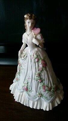 Royal worcester figurine, 'Queen of Hearts' beautiful