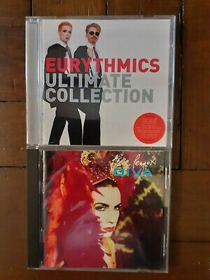CD x 2 THE EURYTHMICS - ULTIMATE COLLECTION Greatest Hits & Annie Lennox - DIVA