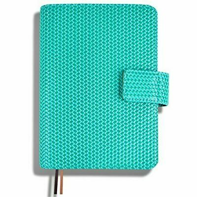 Soft Cover A6 Journal Agenda Schedule Pocket Notebook Daily Planner, Green
