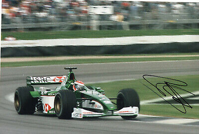 """F1 Driver Formula One Johnny Herbert Hand Signed Photo Autograph  12x8"""" AG"""