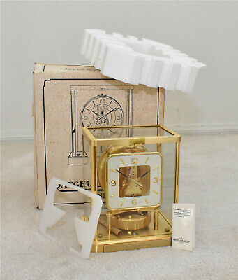 Jaeger LeCoultre Atmos Clock, Model 540, Never Used, Mint