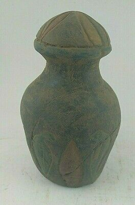 RARE ANTIQUE ANCIENT EGYPTIAN Statue of Stone Sacrifice Vase 1232 Bc