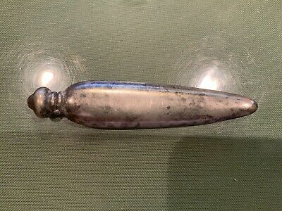 Antique Victorian Sterling Silver Perfume Bottle