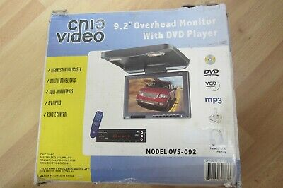 """Cnic 9.2"""" Overhead Monitor With Dvd Player"""