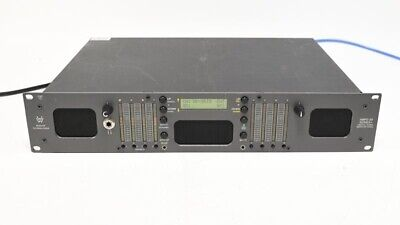 Wohler AMP2-S8HDA 8-Channel SD/HD Multi Audio Monitor AES Level Meter MDA