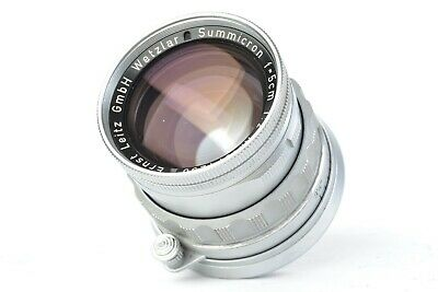 Ernst Leitz GmbH Wetzlar Summicron 5cm f/2 Lens for Leica M **SERVICED**  #P1258