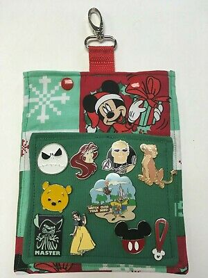 Mickey and Minnie Mouse Hip Lanyard for Pin Trading at the Disney Parks! Holiday