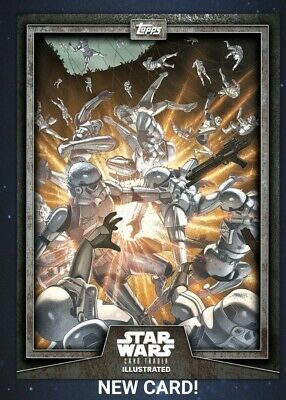 Star Wars Card Trader 2019 CTI Wave 4 Stormtroopers Illustrated Gray Digital