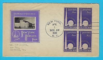 US STAMPS,1939 /& 1964 NEW YORK WORLD/'S FAIR 2PCS MINT NH