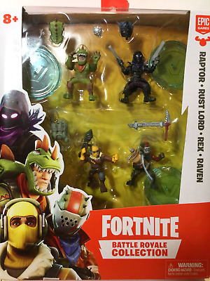"""Action Figures Fortnite Battle Royale Collection 4 Squad Pack Toys """" Games"""