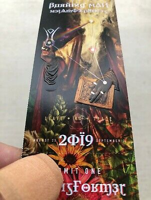 Burning Man Ticket 2019 + Free FedEx overnight shipping