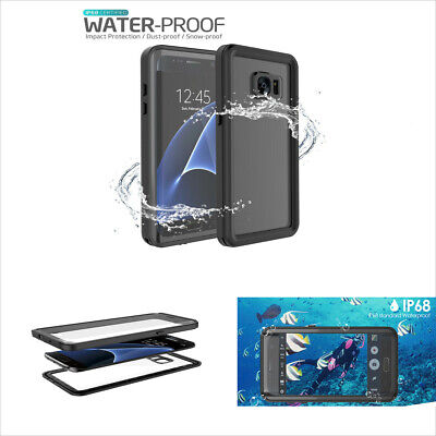 for Samsung Galaxy S7 S7 Edge Phone Case Waterproof Cover Shockproof Protector