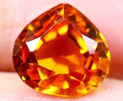 5.60 CT Ceylon's Natural Padparadscha Sapphire Pear Shape Certified Gem OF8897