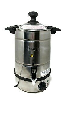 Swan SWU5L water Mulled Wine Urn 5 Litre for cafes tea room catering urn events