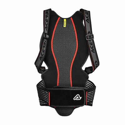 back protection comfort 2.0 black s/m Acerbis body armour