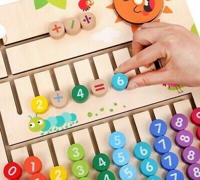 Children's Learning To Count Number Toys Educational Early Learning Counting New