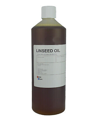 Linseed Oil 100% PURE Cold Pressed Linseed Oil Wood Treatment ORGANIC 1 Litre
