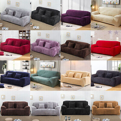 Artiss Sofa Cover Quilted Couch Covers Lounge Protector Slipcovers 1/2/3/4Seater