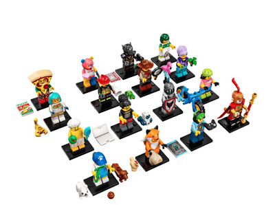 LEGO SERIES 19 - Collectable Minifigures - Complete / Full Set of 16 - 71025