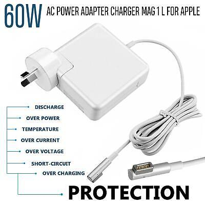 60W AC Power Adapter Charger 1 L For Apple Mac Macbook Pro Air 13″ 15″ @OZ