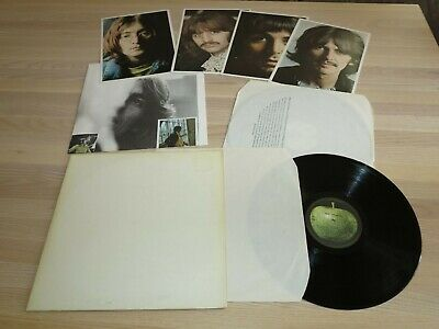 The Beatles 2 LP - White Álbum / Francés 1C172-04173/74 Press IN Mint