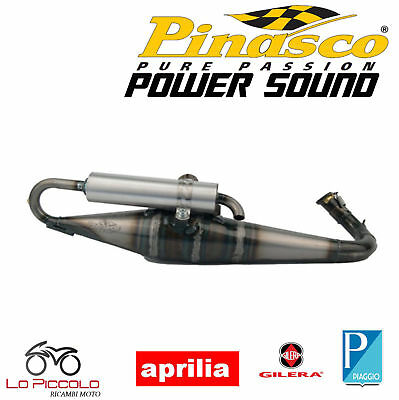 Silencieux Homologué Pinasco Power Sound Piaggio Ntt Quartz LC