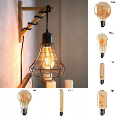 Retro Filament Edison Antique Dimmable Industrial Light Bulb E27 Decoration Tool