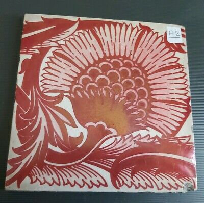 William De Morgan BBB Lustre tile A2