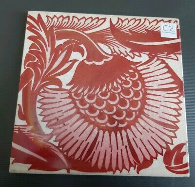 William De Morgan BBB Lustre tile C2
