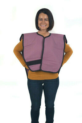 3D Dental XAP-M Lead Apron Panoramic Poncho Mauve 3mm Lead Equivalency Exceeds