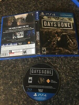 Days Gone Sony PlayStation Exclusive  4 PS4 Video Game Zombie Survival Rated M