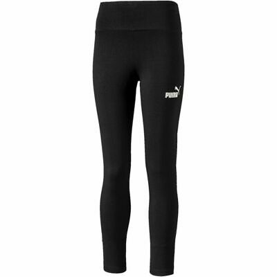Puma Girls Amplified Leggings Bottoms Sport Black 580276 Bnwt New