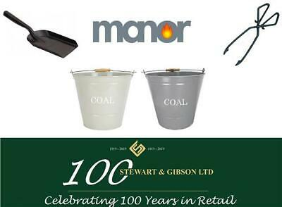 Manor Fireside Coal Buckets - With or Without Tools
