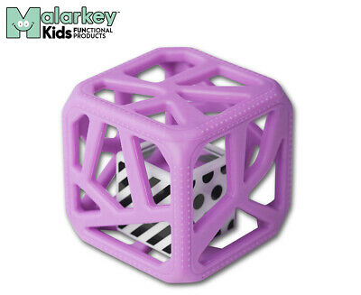 Malarkey Kids Teething Chew Cube - Purple