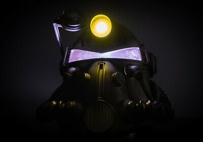 Fallout 76 Power Armor Helmet and BOTH duffel bags (Comes in original box)