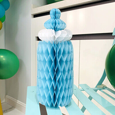 Hanging Baby Bottle Paper Baby Shower Kids Birthday Party Craft Decoration~GN
