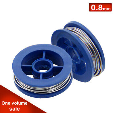 0.8mm Tin Lead Rosin Core Solder Welding Iron Wire Reel 170cm A Roll Solid New