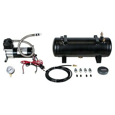 Heavy Duty 12V 140 Psi Air Compressor Kit With 1.5 Gal Tank, Includes Pressure G