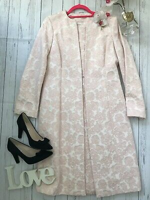 Berkertex Size 12 blush pink long sleeve dress suit mother of the bride wedding