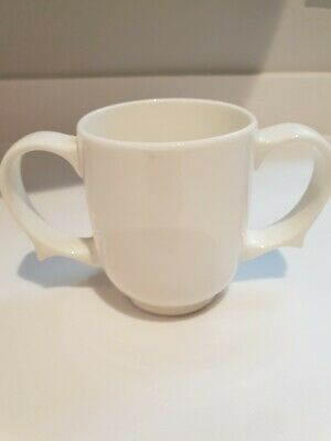 Dignity by Wade Ceramic Two Handled Mug Cup Excellent Condition.