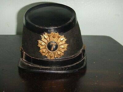 Old 1800's Hat Rare Military Relic Ridabock & Co New York Civil War Antique