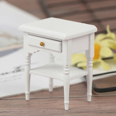 1Pc 1:12 Dollhouse Miniature Furniture Bedside Cupboard Doll House Room D TDC