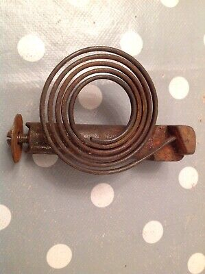 """Clock Chime Gong 3.5X2.25""""  Antique Mantle Clock Spare Part"""