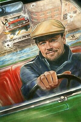 Once Upon A Time In Hollywood Rick Dalton Leonardo Di Caprio Movie Poster