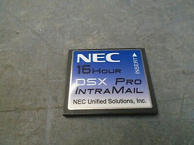 NEC DSX IntraMail Pro  16Hr Voicemail CF card 1091051