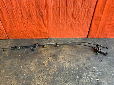 Oem 2004 04 Acura Rsx Type S - Shifter Cables Set With Transmission Bracket